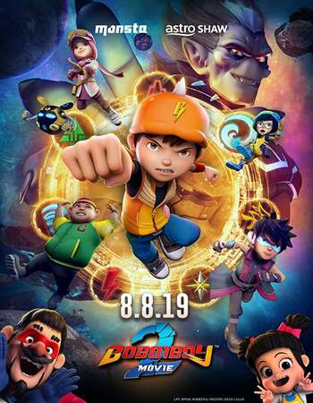 BoBoiBoy Movie 2 2020 English 1080p WEB-DL 1.9GB ESubs