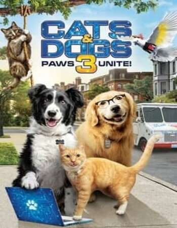 Cats & Dogs 3: Paws Unite 2020 English 720p WEB-DL 750MB Download