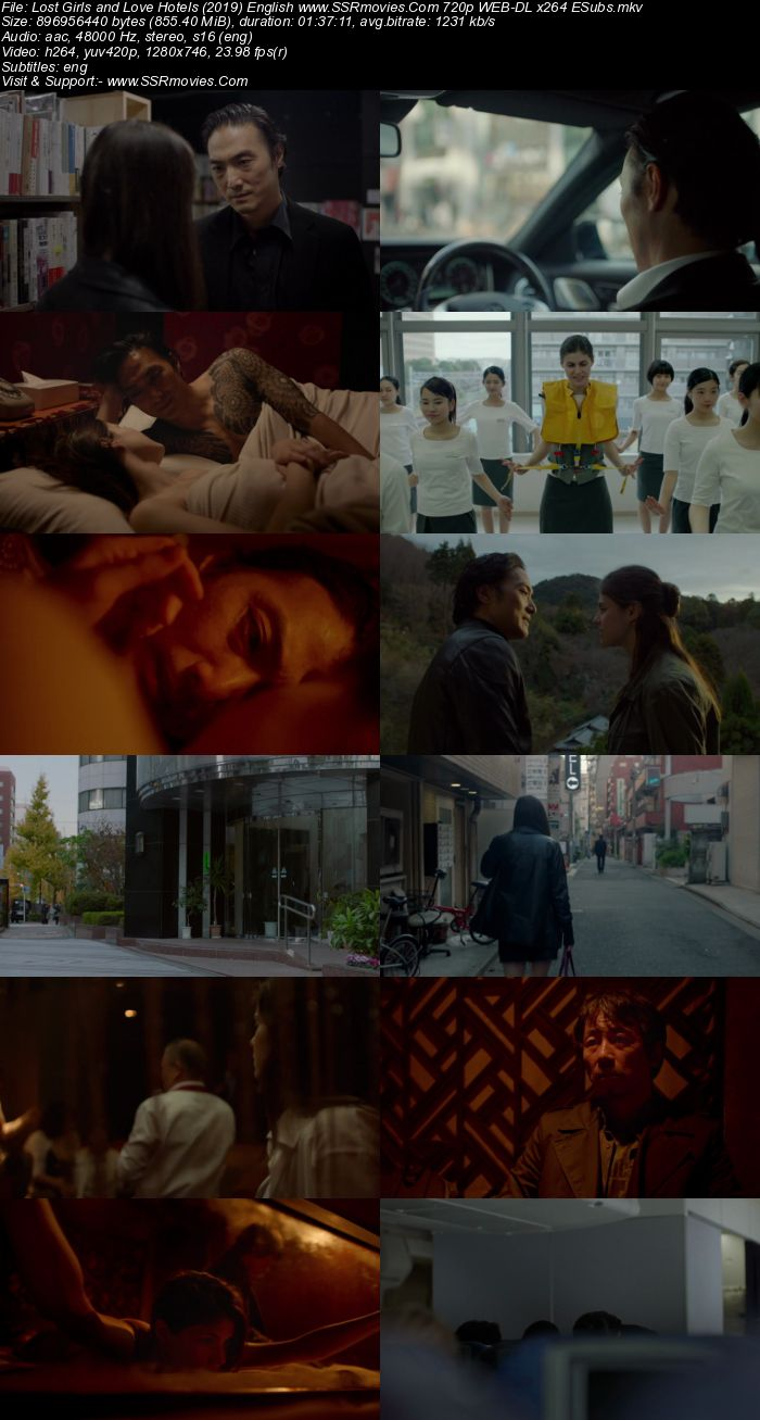 Lost Girls and Love Hotels (2020) English 480p WEB-DL 300MB ESubs Full Movie Download