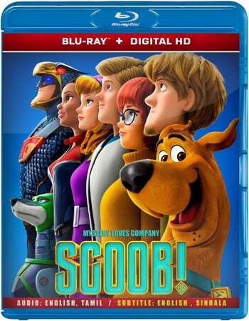 Scoob! (2020) Dual Audio Hindi ORG 480p BluRay x264 300MB ESubs Full Movie Download
