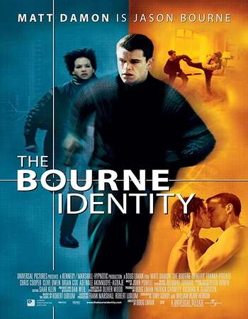 The Bourne Identity 2002 English 720p BluRay 1GB ESubs