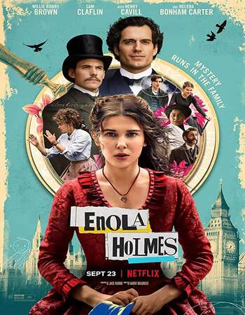 Enola Holmes (2020) Dual Audio Hindi 480p WEB-DL x264 400MB ESubs Full Movie Download