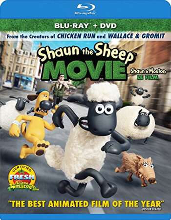 Shaun the Sheep Movie (2015) Dual Audio Hindi 720p BluRay x264 850MB Full Movie Download