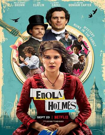 Enola Holmes 2020 English 720p WEB-DL 1GB MSubs