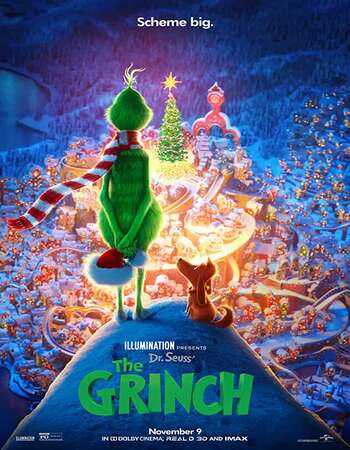 The Grinch (2018) Dual Audio Hindi 720p BluRay 800MB ESubs Full Movie Download