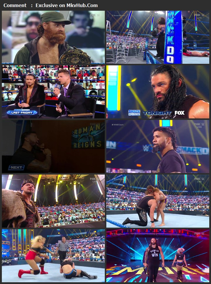 WWE Friday Night SmackDown 25 September 2020 720p HDTV x264 750MB Download