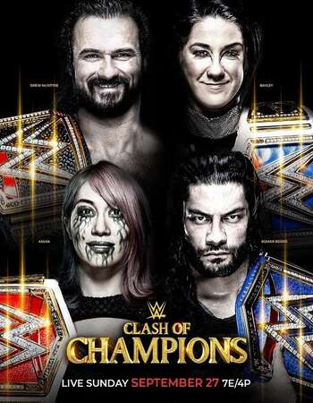WWE Clash of Champions 2020 720p PPV WEBRip x264 1.5GB Download