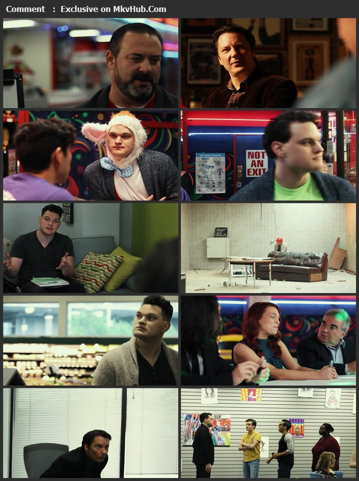 Neon Days 2020 English 720p WEB-DL 800MB Download