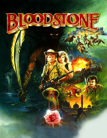Bloodstone (1988) Dual Audio Hindi 720p BluRay x264 950MB Full Movie Download