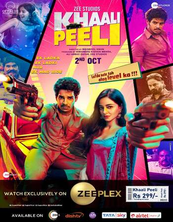 Khaali Peeli 2020 Hindi 1080p WEB-DL 1.6GB ESubs