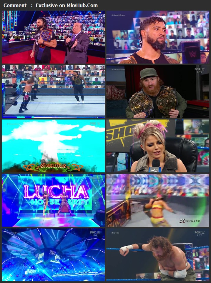 WWE Friday Night SmackDown 2 October 2020 720p HDTV x264 750MB Download