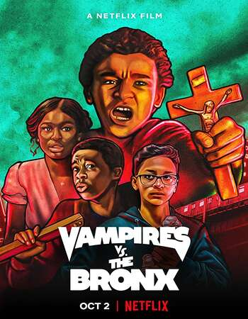 Vampires vs. the Bronx 2020 English 720p WEB-DL 750MB Download