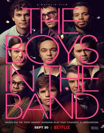 The Boys in the Band (2020) English 720p WEB-DL x264 1GB Full Movie Download