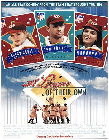 A League of Their Own 1992 English 720p BluRay 1GB Download