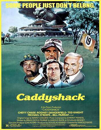 Caddyshack 1980 English 720p BluRay 1GB ESubs