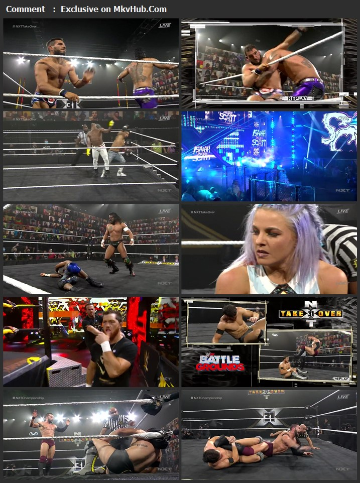 WWE NXT TakeOver 31 2020 720p WEBRip x264 1.2GB Download