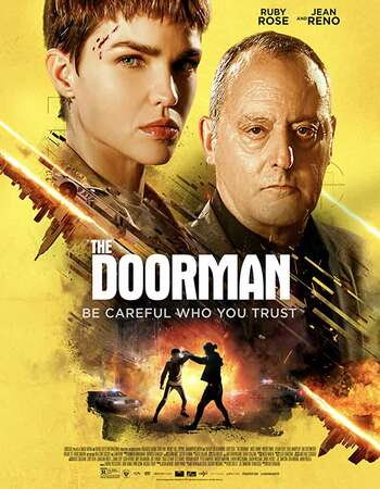 The Doorman (2020) English 720p WEB-DL x264 850MB Full Movie Download