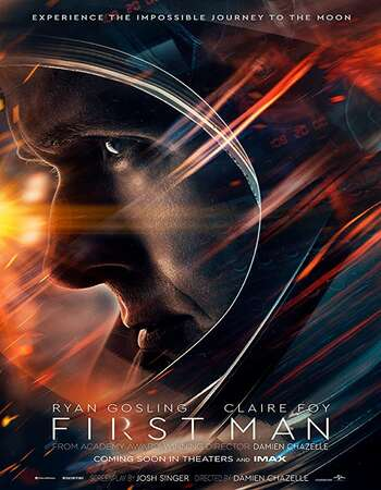 First Man 2018 Dual Audio [Hindi-English] 720p BluRay 1.3GB ESubs