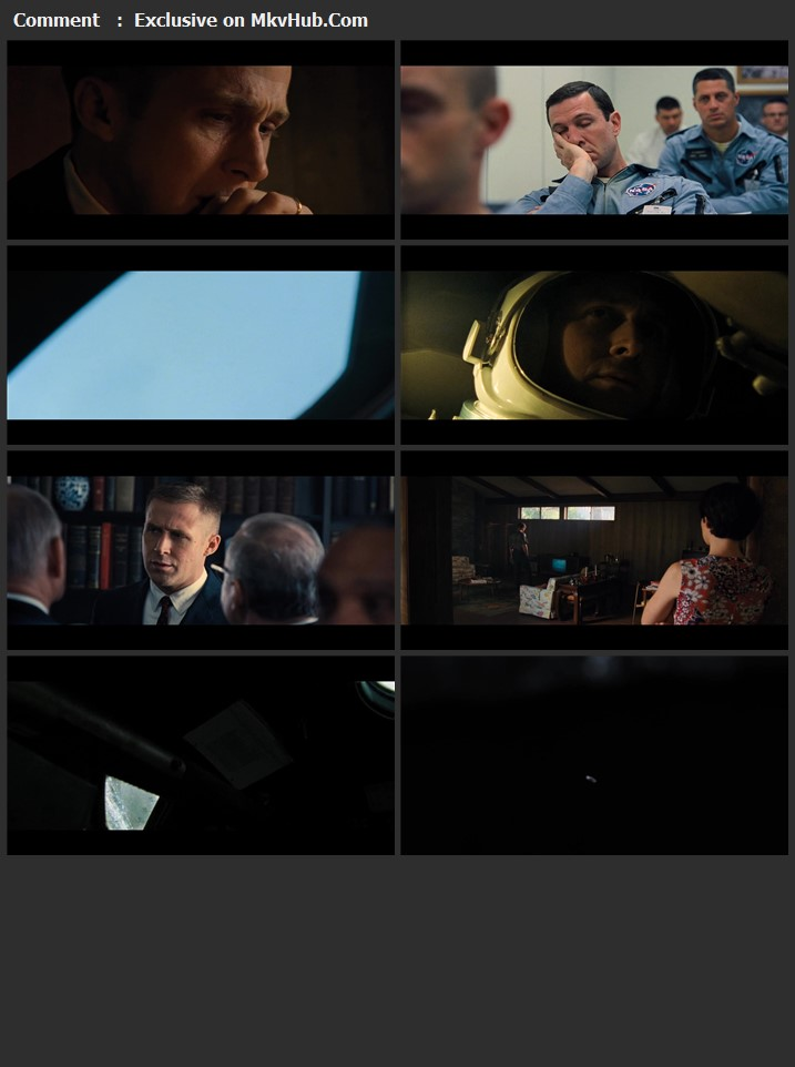 First Man 2018 Dual Audio [Hindi-English] 720p BluRay 1.3GB Download