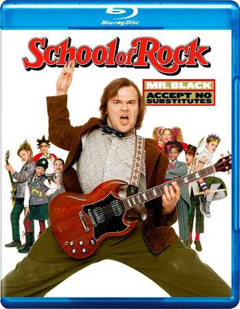 School of Rock (2003) Dual Audio Hindi 480p BluRay x264 350MB ESubs Full Movie Download