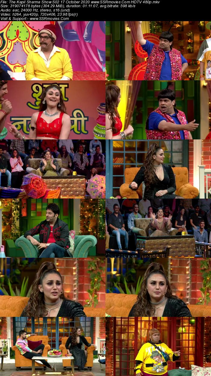 The Kapil Sharma Show S02 17 October 2020 Full Show Download HDTV HDRip 480p 720p