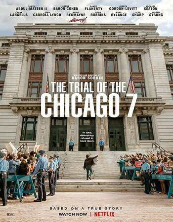 The Trial of the Chicago 7 (2020) English 720p WEB-DL x264 1.1GB Full Movie Download