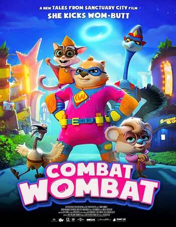 Combat Wombat 2020 English 720p WEB-DL 750MB Download