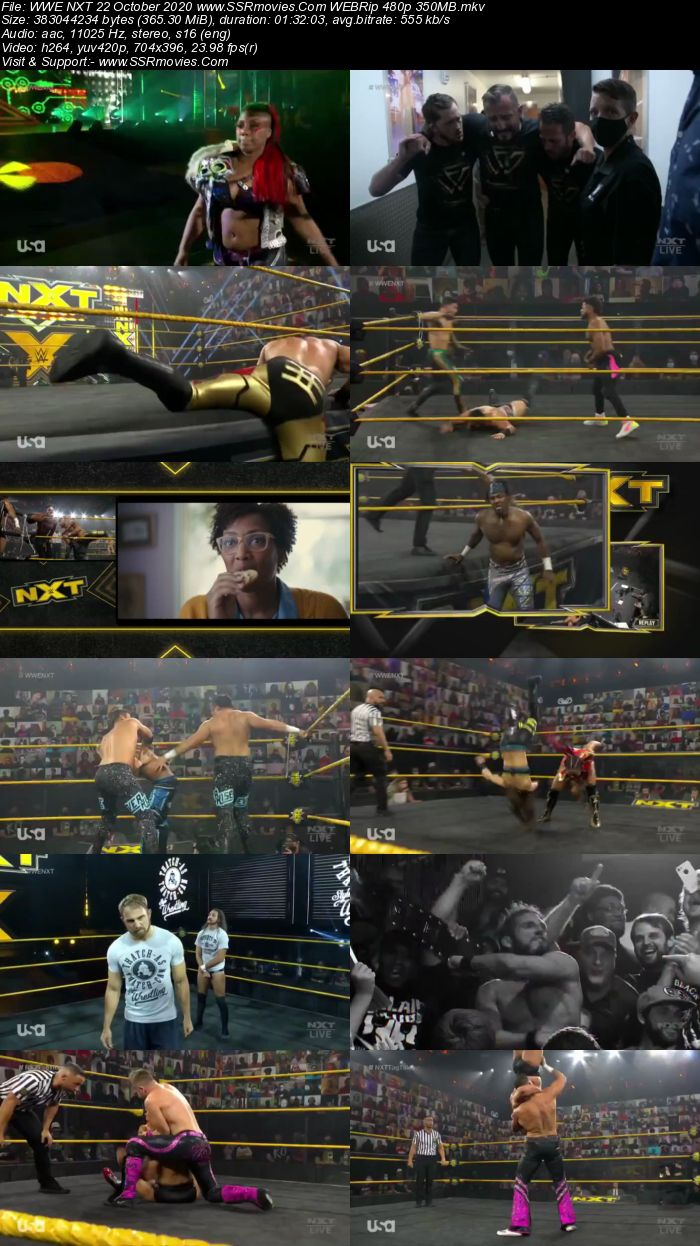 WWE NXT 21 October 2020 HDTV 480p Full Show Download