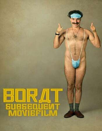 Borat Subsequent Moviefilm 2020 English 720p WEB-DL 800MB MSubs