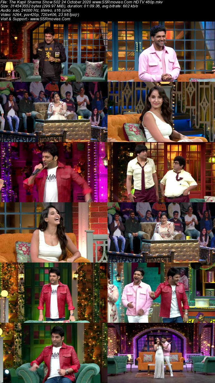 The Kapil Sharma Show S02 24 October 2020 Full Show Download HDTV HDRip 480p 720p