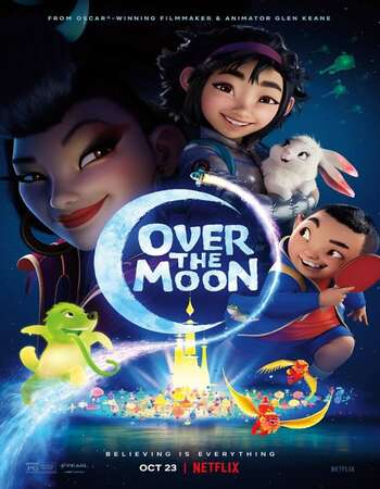 Over the Moon (2020) Dual Audio Hindi 480p WEB-DL 300MB ESubs Full Movie Download