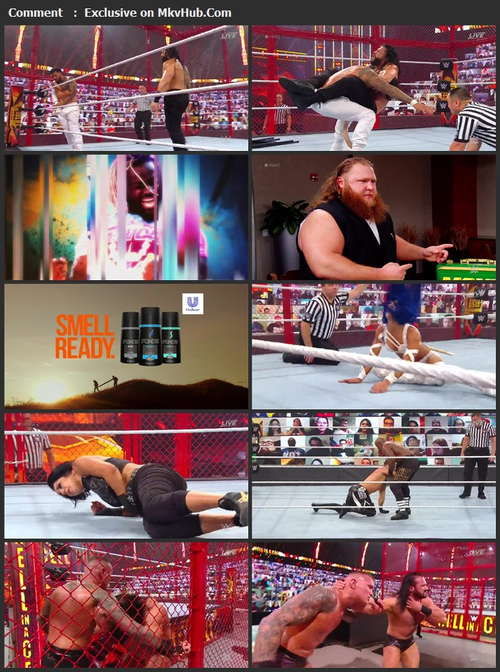 WWE Hell in a Cell 2020 720p PPV WEBRip x264 1.5GB Download