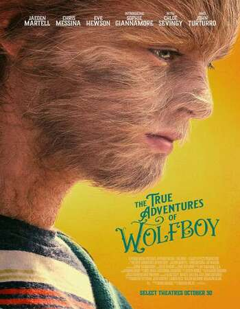The True Adventures of Wolfboy 2020 English 720p WEB-DL 800MB ESubs
