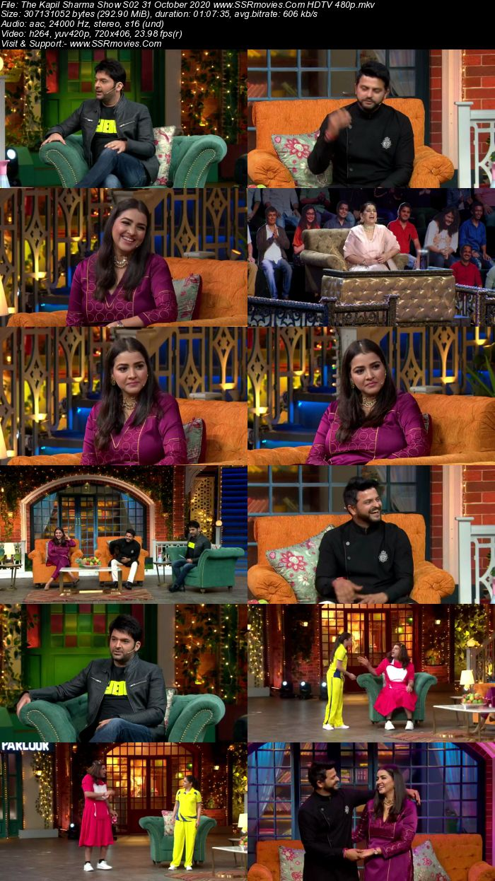 The Kapil Sharma Show S02 31 October 2020 Full Show Download HDTV HDRip 480p 720p