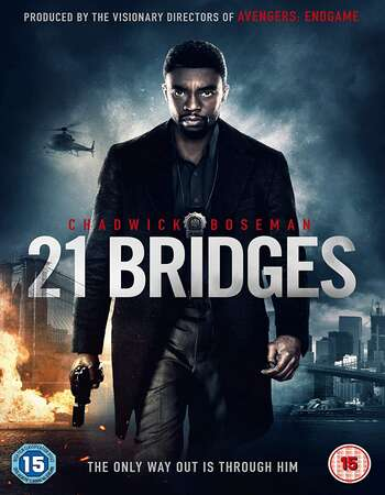 21 Bridges 2019 Dual Audio [Hindi-English] 720p BluRay 900MB ESubs