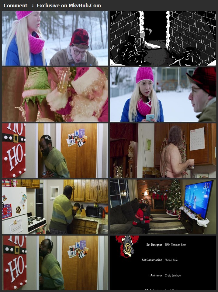 Worst Christmas Ever 2020 English 720p WEB-DL 700MB Download