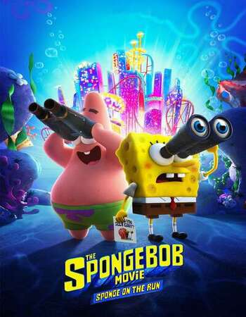 The SpongeBob Movie: Sponge on the Run 2020 English 720p WEB-DL 800MB Download