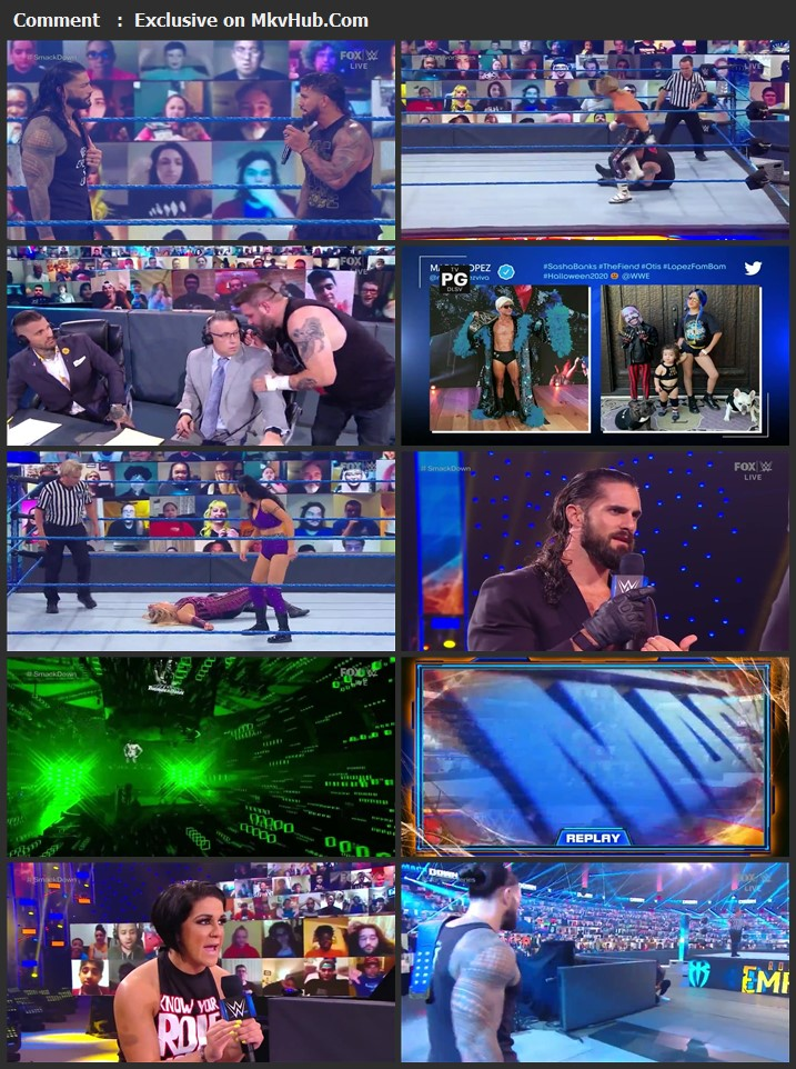 WWE Friday Night SmackDown 30 October 2020 720p HDTV x264 750MB Download