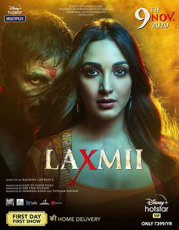 Laxmmi Bomb (2020) Hindi 480p WEB-DL x264 400MB Full Movie Download