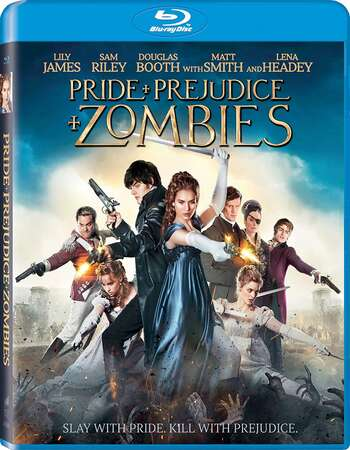 Pride and Prejudice and Zombies (2016) Dual Audio Hindi 480p BluRay 350MB Full Movie Download