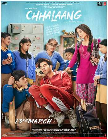 Chhalaang 2020 Hindi 720p WEB-DL 1GB ESubs