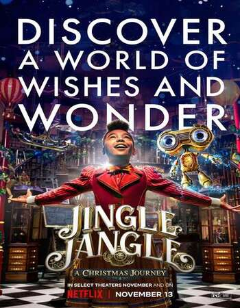 Jingle Jangle: A Christmas Journey 2020 English 720p WEB-DL 1GB Download