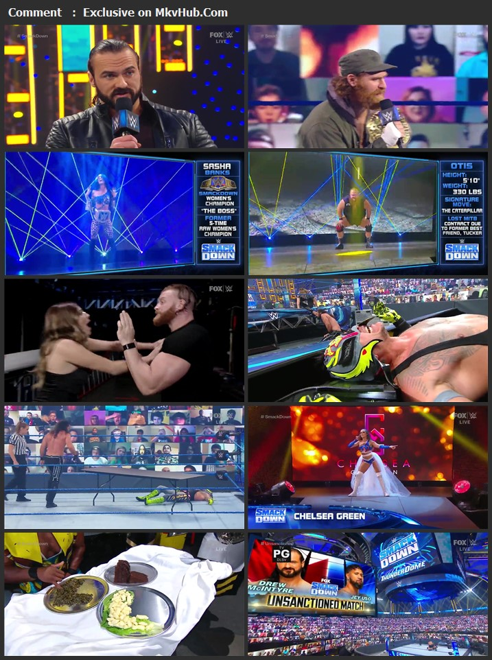 WWE Friday Night SmackDown 13 November 2020 720p HDTV 750MB Download