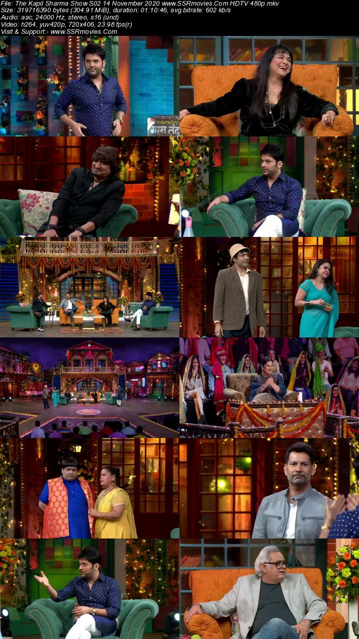 The Kapil Sharma Show S02 14 November 2020 Full Show Download HDTV HDRip 480p 720p