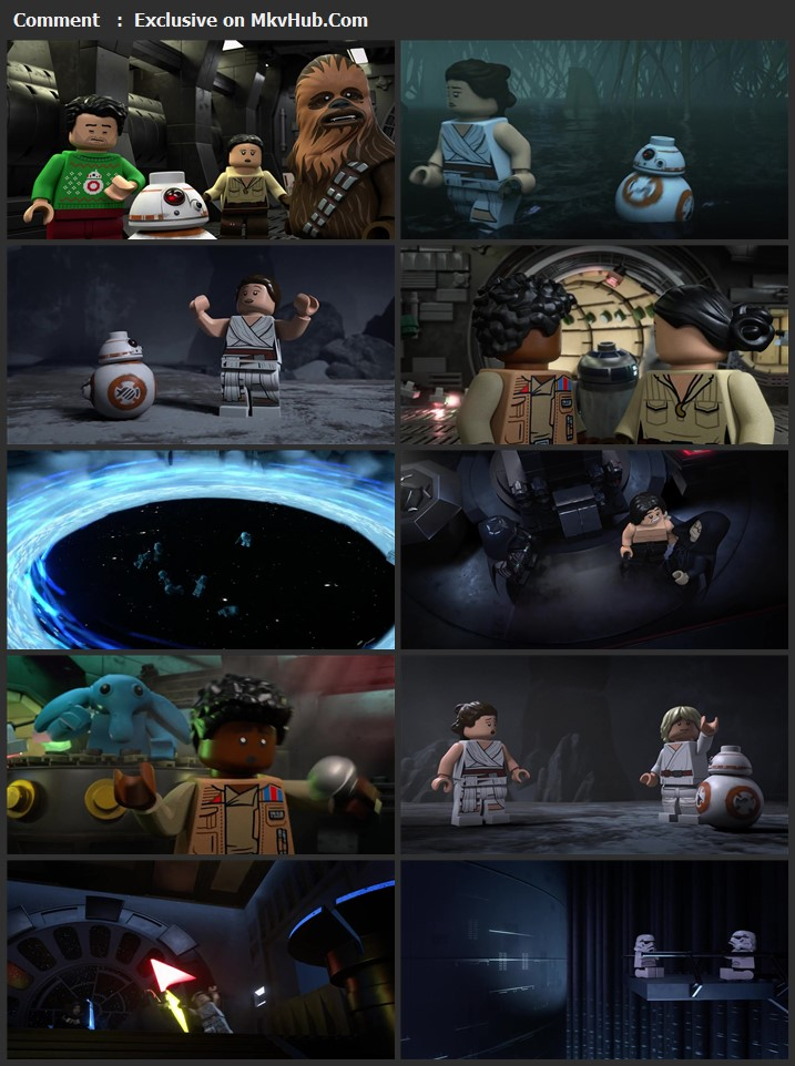 The Lego Star Wars Holiday Special 2020 English 720p WEB-DL 400MB Download
