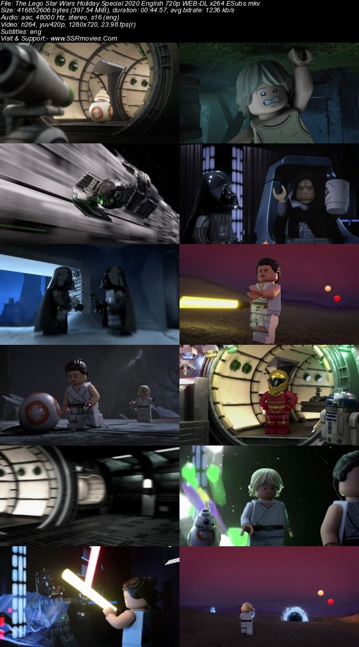 The Lego Star Wars Holiday Special (2020) English 720p WEB-DL x264 400MB Full Movie Download