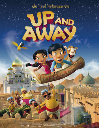 Up And Away (2018) Dual Audio Hindi 480p WEB-DL x264 250MB ESubs Movie Download
