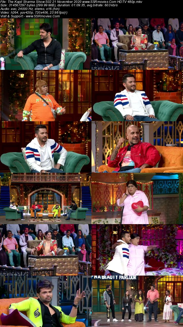 The Kapil Sharma Show S02 21 November 2020 Full Show Download HDTV HDRip 480p 720p