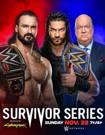 WWE Survivor Series 2020 720p PPV WEBRip Full Show Download