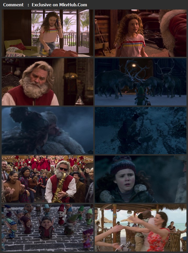 The Christmas Chronicles 2 2020 English 720p WEB-DL 950MB Download